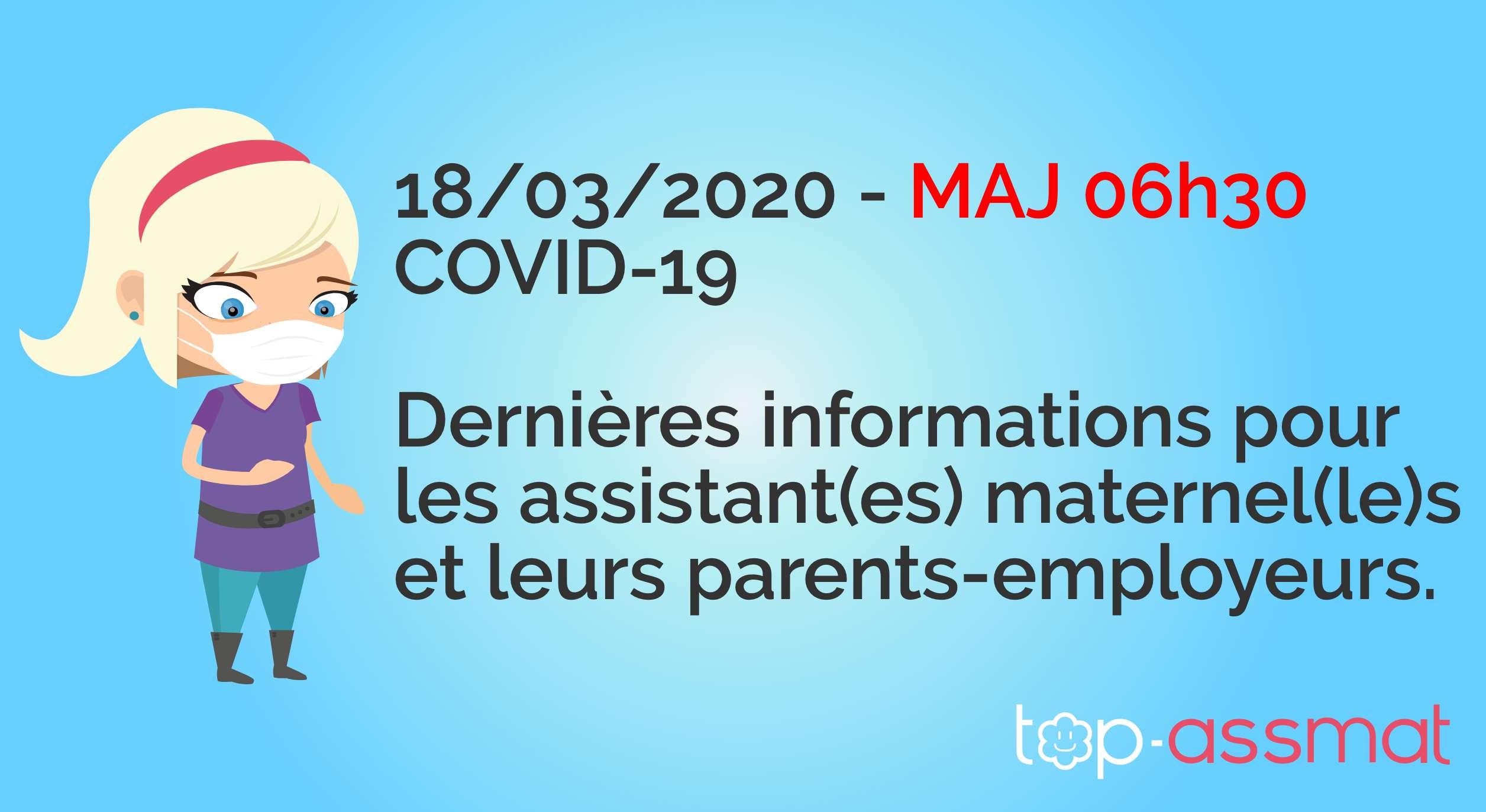 Coronavirus - assistant(e) maternel(le) - le point au 9 mars 9