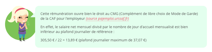 exemple CMG